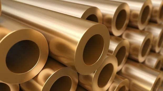 Prices for copper, among the most used of the industrial metals, fell to six-week lows in New York at $3.56 (U.S.) a pound, driven lower on concerns global economic stimulus plans will not be able to revive slowing world economic growth. (Konstantin Inozemtsev/iStockphoto)
