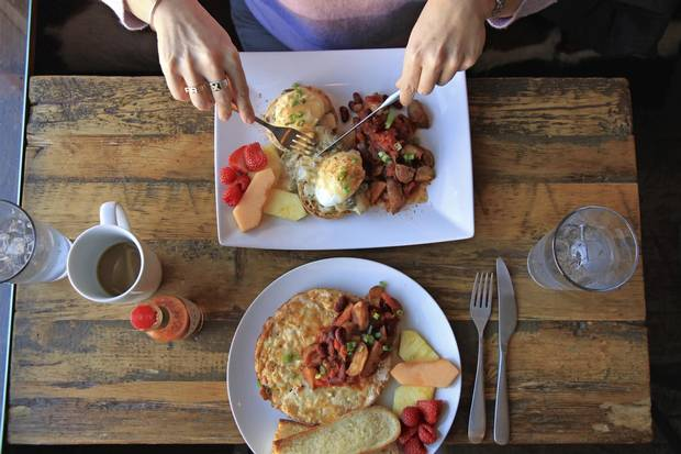 Brunch at Little Red Market Café in Mortlach