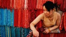 A vendor at the Beijing Dirty Market (Bruce Kirkby/Bruce Kirkby)