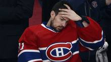 Montreal Canadiens goalie Carey Price (31) during the third period on Saturday, May 17, 2014. (The Canadian Press)