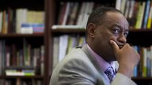 TDSB director of education Chris Spence acknowledged that the board could use the help from an Ontario government team advising on how to fix its operations. (MICHELLE SIU FOR THE GLOBE AND MAIL)