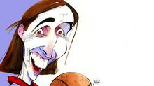 Steve Nash illustration (Anthony Jenkins/The Globe and Mail)