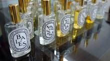 A range of Diptyque fragrances (Jeff McIntosh/Jeff McIntosh/The Globe and Mail)