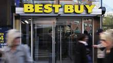 Best Buy: While the electronics retailer has rewarded shareholders by buying back its own shares, it may be too risky for many investors. (Shannon Stapleton/Reuters)
