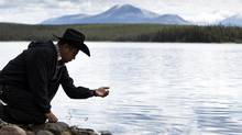 Roger William, on behalf of the Tsilhqot'in Nation, brought a long-running land claim to the Supreme Court of Canada. (JOHN LEHMANN/The Globe and Mail)