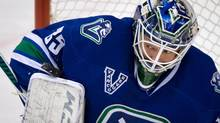 The Vancouver Canucks say a trade for goaltender Cory Schneider is within the realm of possibilities. (file photo) (DARRYL DYCK/THE CANADIAN PRESS)