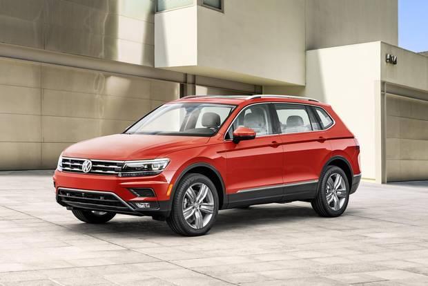 2018 Volkswagen Tiguan.
