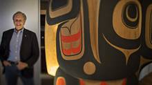 Mike Robinson, Executive Director of the Bill Reid Gallery of Northwest Coast Art, is less than confident the Vancouver Art Gallery will be able to raise the money it needs to build a new facility. (John Lehmann/The Globe and Mail)