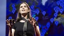 Daphne Koller, educator, speaks during Session 3: Building Blocks, at TEDGlobal 2012 on Tuesday, June 26, in Edinburgh, Scotland. (James Duncan Davidson/James Duncan Davidson)