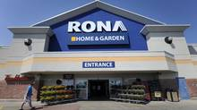 A Rona Home & Garden store in Toronto. (Fred Lum/The Globe and Mail)