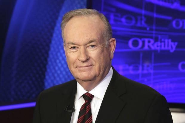 Fox News TV host Bill O'Reilly, shown in 2015.
