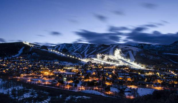 Park City Mountain Resort boasts nearly 3,000 hectares of skiable terrain, 41 lifts and 314 marked trails.