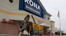 Rona is closing or downsizing 23 big-box stores, most of them in the highly competitive Ontario market. (Chris Young for The Globe and Mail/Chris Young for The Globe and Mail)