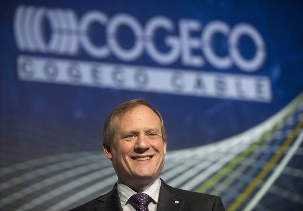 Cogeco president and CEO Louis Audet is shown in 2014.