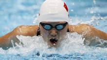 Ye Shiwen of China swims in her women's 200m individual medley semi-final during the London 2012 Olympic Games at the Aquatics Centre July 30, 2012. (DAVID GRAY/REUTERS)