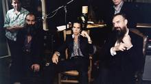 On Push the Sky Away by Nick Cave and the Bad seeds, the nine tracks stream lowly, equal parts beauty and soft menace. (HANDOUT)