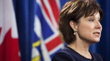 "Before the past election, Christy Clark promised an open and transparent government. ""Open government means talking about our problems and setting our priorities openly,"" she said. ""Government will work with citizens to find solutions and explain decisions."" (Rafal Gerszak for The Globe and Mail)"