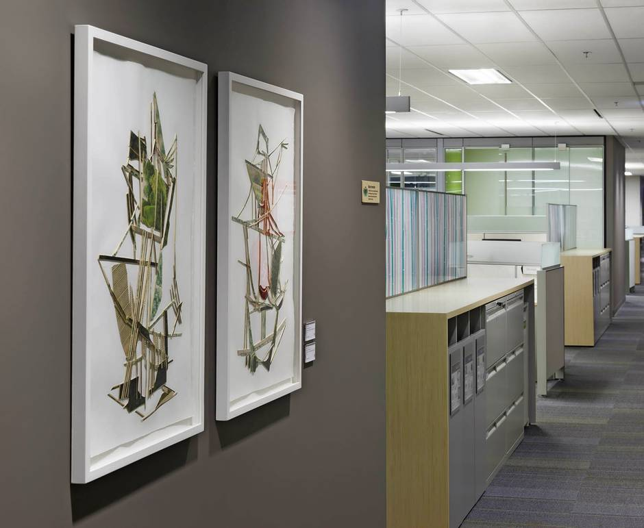To provide workplace wellness features from mood boosting art work to centralized filing cabinets that encourage employees to get up and move around
