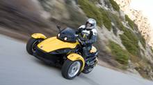 BRP's Can-Am Spyder (jim smithson/Bombardier Recreational)