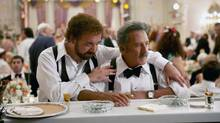 "Paul Giamatti, left, and Dustin Hoffman in a scene from ""Barney's Version"" (Takashi Seida/CP)"