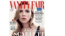 In the May issue of Vanity Fair, writer Lili Anolik describes Johansson as 'ravishing, radiant, sublime, good enough to eat.'