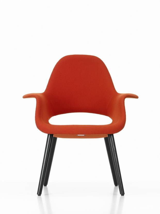 Organic Chair by Charles Eames and Eero Saarinen for Vitra, $3,111 at GR Shop (www.grshop.com).