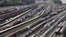 The Canadian National Thornton Railroad Yards in Surrey, B.C. (ANDY CLARK/REUTERS)
