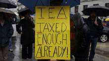 Tea Party protesters gather in Harrisburg, Pa., in this 2009 photo. (Carolyn Kaster/ASSOCIATED PRESS)