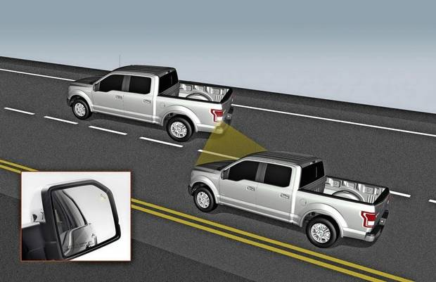 When a passing vehicle enters your blind spot, a will sense it and trigger a warning light on the corresponding side mirror.