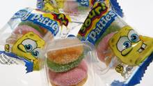 Sponge Bob Sour Krabby Patties (Deborah Baic/Deborah Baic/The Globe and Mail)