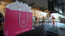 Holt Renfrew Canadian flagship store on Bloor Street in Toronto, Sept. 6, 2012. (Deborah Baic/The Globe and Mail)