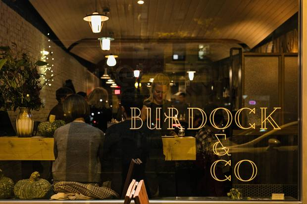 Burdock & Co. in Vancouver.