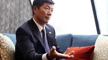 Lobsang Sangay, the head of the Central Tibetan Administration (also known as the Tibetan Government in Exile), says self-immolations in Tibet are the result of Chinese repression. (Dave Chan for The Globe and Mail)