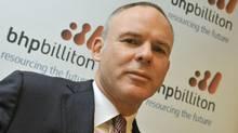 BHP Billiton CEO Marius Kloppers. (TOBY MELVILLE/REUTERS)