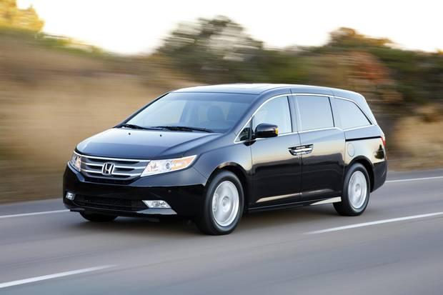 2011 Honda Odyssey Touring Elite.