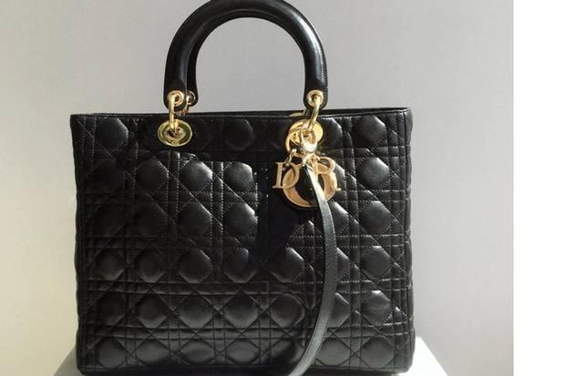The Consignment Piece: Dior - Lady Dior Bag, $3,598.40, through www.vspconsignment.com.