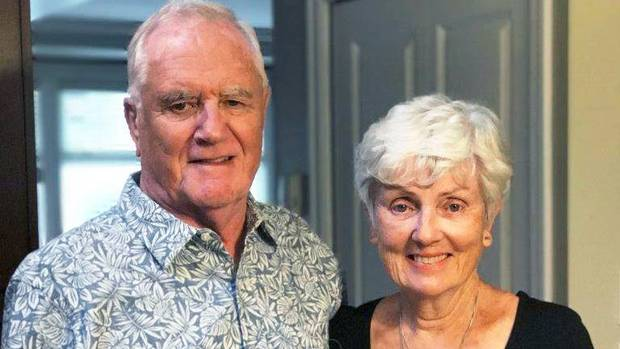 Ian Moore Wilson, pictured with his wife, Valerie Wilson was killed in the Barcelona terror attack on Thursday.