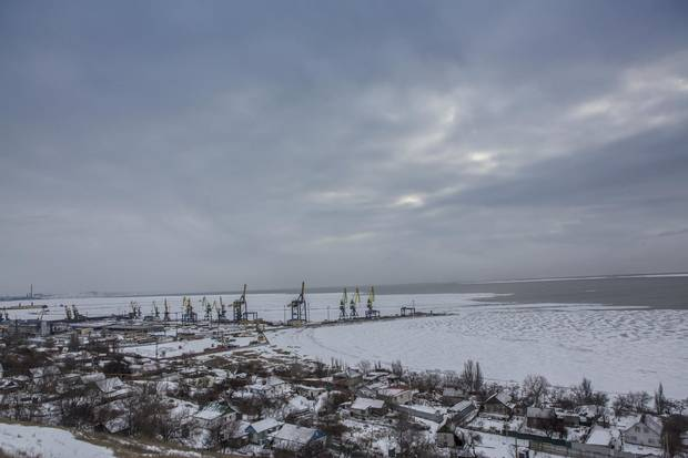 In places such as Sartana, a farming village near the strategic Ukrainian-held port of Mariupol, the escalation has felt like a return to the hellish early days of this conflict.