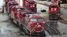 Canadian Pacific Railway posted record fourth-quarter and annual profit. (Darryl Dyck/The Canadian Press)