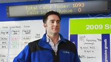 Brian Scudamore, founder and CEO of 1-800-GOT-JUNK, has a new venture aimed at painting houses in a single day. (Jeff Vinnick/Globe and Mail)