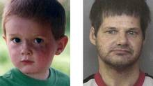 Kienan Hebert and Randall Hopley are shown in these RCMP handout photos. (Globe files/Globe files)