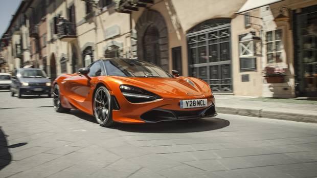 The McLaren 720S.