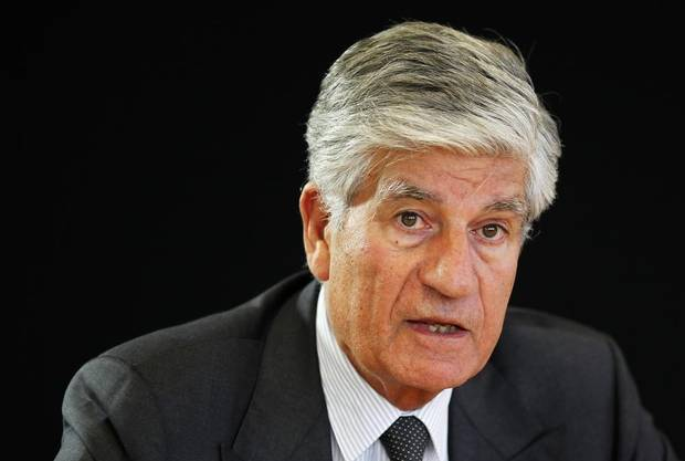 Maurice Levy attends a Reuters Global Media and Technology Summit in Paris June, 2012.