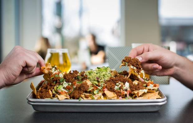 Bells & Whistles serves up classic pub fare, such as nachos.