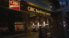 CIBC's chief financial officer Kevin Glass told a financial conference that the bank is looking to the U.S. for potential acquisitions because of the business culture and the many opportunities. (Fred Lum/The Globe and Mail)