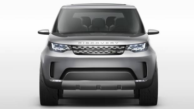 Land Rover Discovery Vision Concept has three rows of seating that will seat seven in a 2/3/2 configuration. (Land Rover)