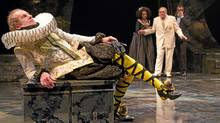"Tom Rooney as Malvolio in ""Twelfth Night"" at the Stratford Shakespeare Festival (Stratford Shakespeare Festival //Cylla von Tiedemann)"