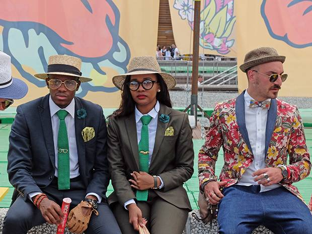 While the Florence tradeshow Pitti Uomo began as an event focused on connecting brands with buyers – and labels both established and indie still do brisk business from their booths – it's evolved into a forum for men's street where the 'Pitti Peacocks' strut their stuff.