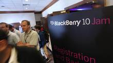 Developers attend Blackberry 10 Jam in Kitchener. (Deborah Baic/The Globe and Mail)
