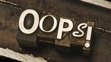 Some investing errors are based on emotion. Others are based on flawed math. (Alan Merrigan/iStockphoto)